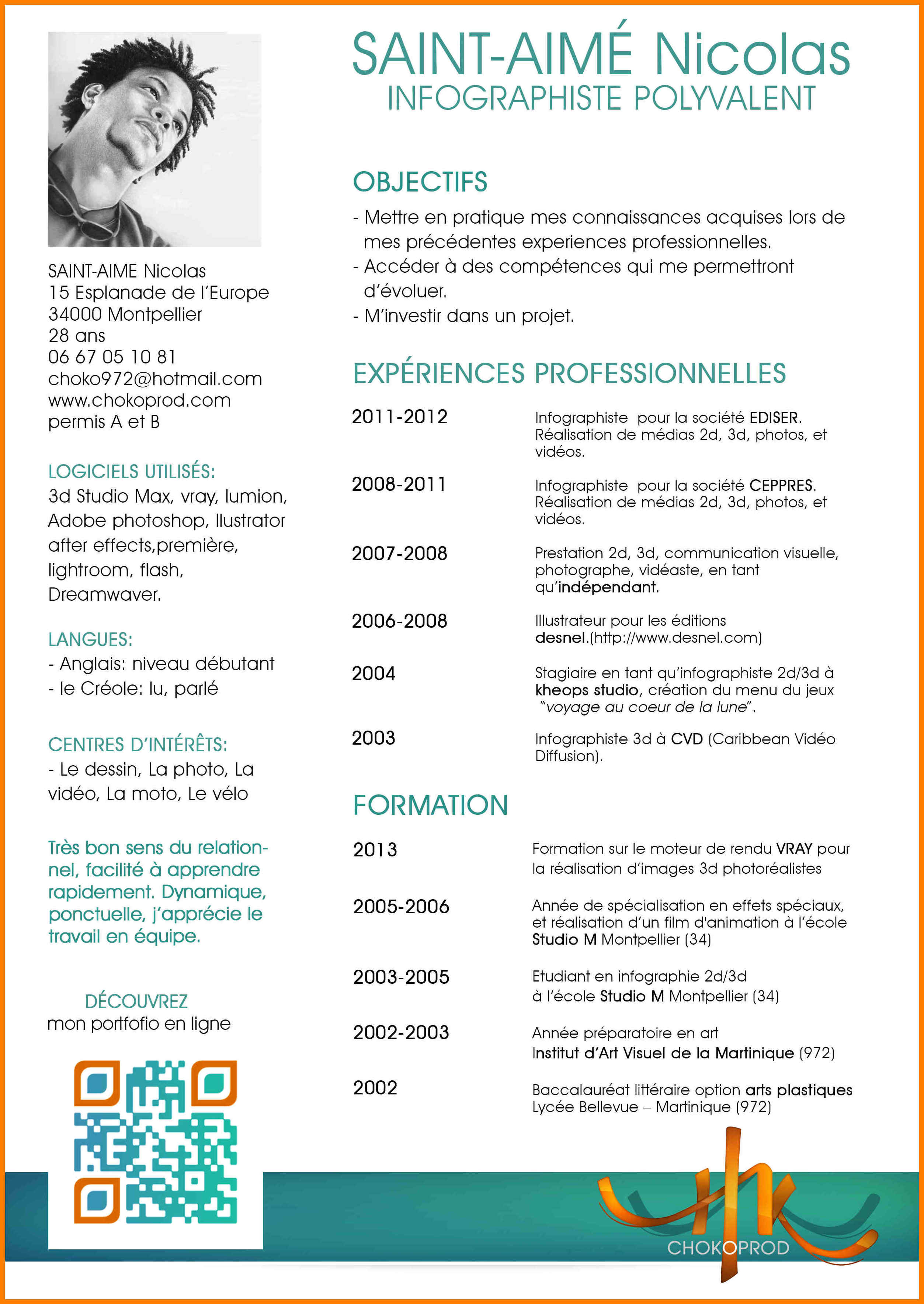 competence cv industrie
