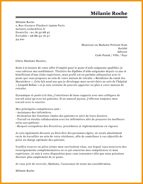 agrafer cv lettre de motivation