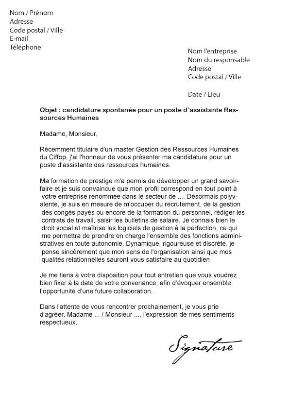 exemple lettre de motivation assistant de gestion administrative alternance exemple de lettre