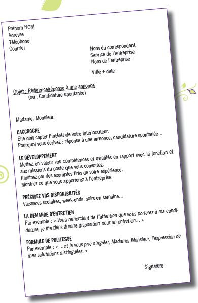 lettre de motivation agente administrative debutant