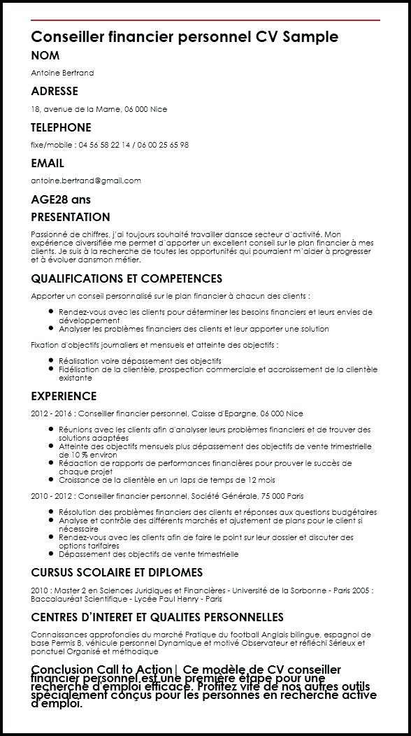 exemple de cv operateur pao
