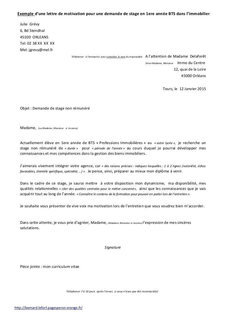 cv et lettre de motivation en italien