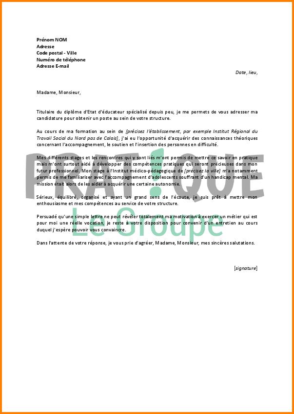 lettre de motivation et cv en anglais pdf