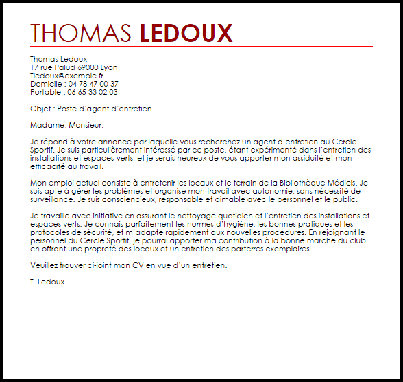 exemple cv educateur ime