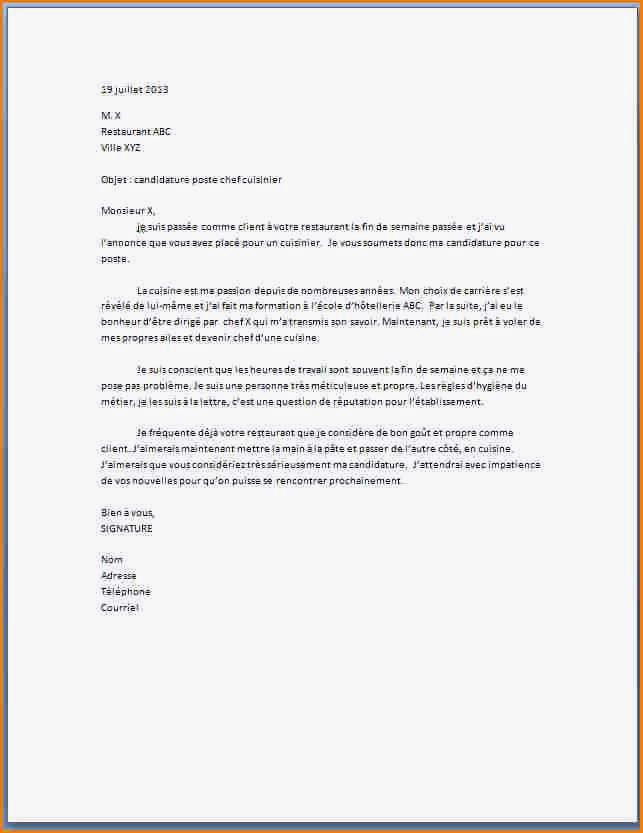 exemple lettre de motivation pour mcdonalds exemple de lettre