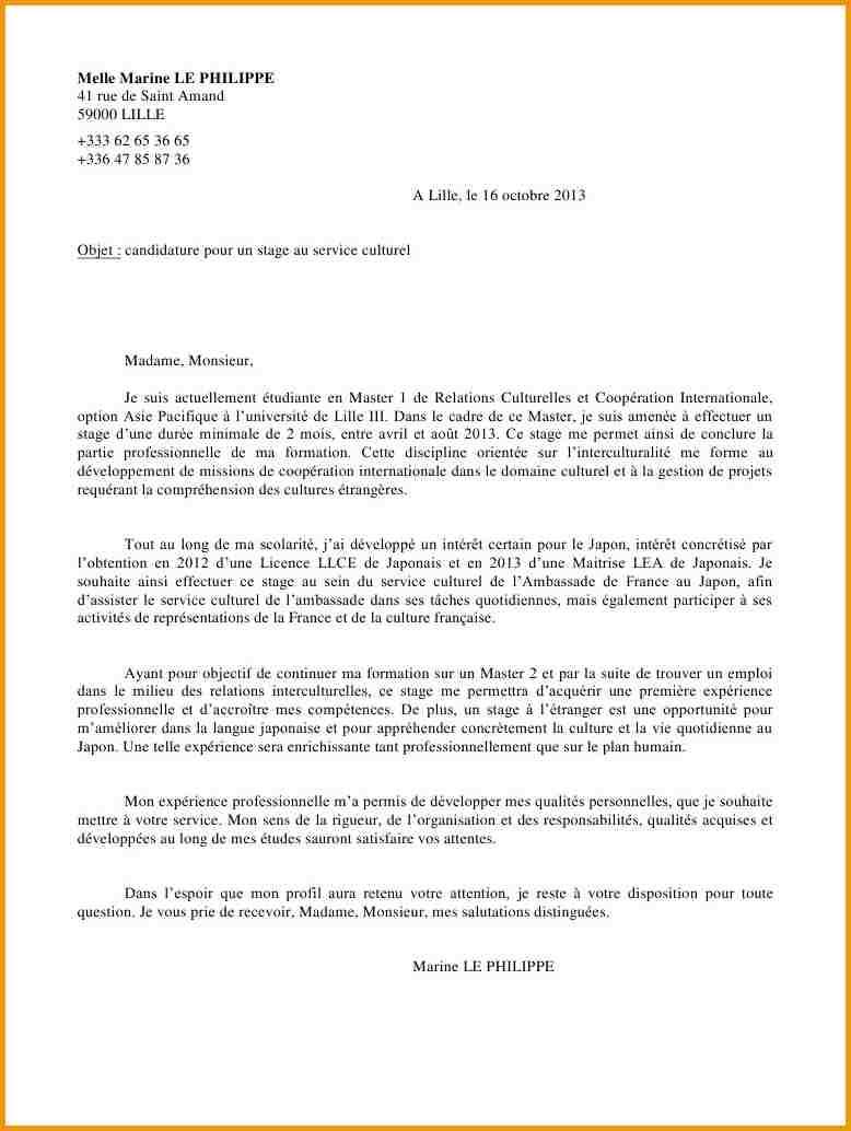 image lettre de motivation agent de sterilisation modele cv