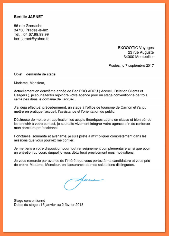 cv et lettre de motivation pour admission post bac