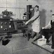 [Mystère #169] Un galvanomètre à cordes pour faire des électrocardiogrammes