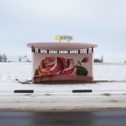 Les arrêts de bus biélorusses
