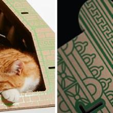 Quand les maisons pour chats font le tour du monde