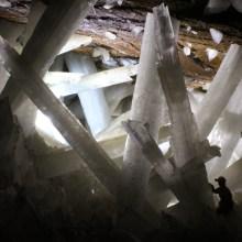 Les cristaux de la mine de Naïca