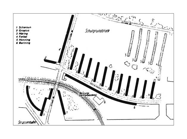... Postal Order Form. 1929 1930) Siemensstadt Siedlung (Walter Gropius)  (628×469) Arch