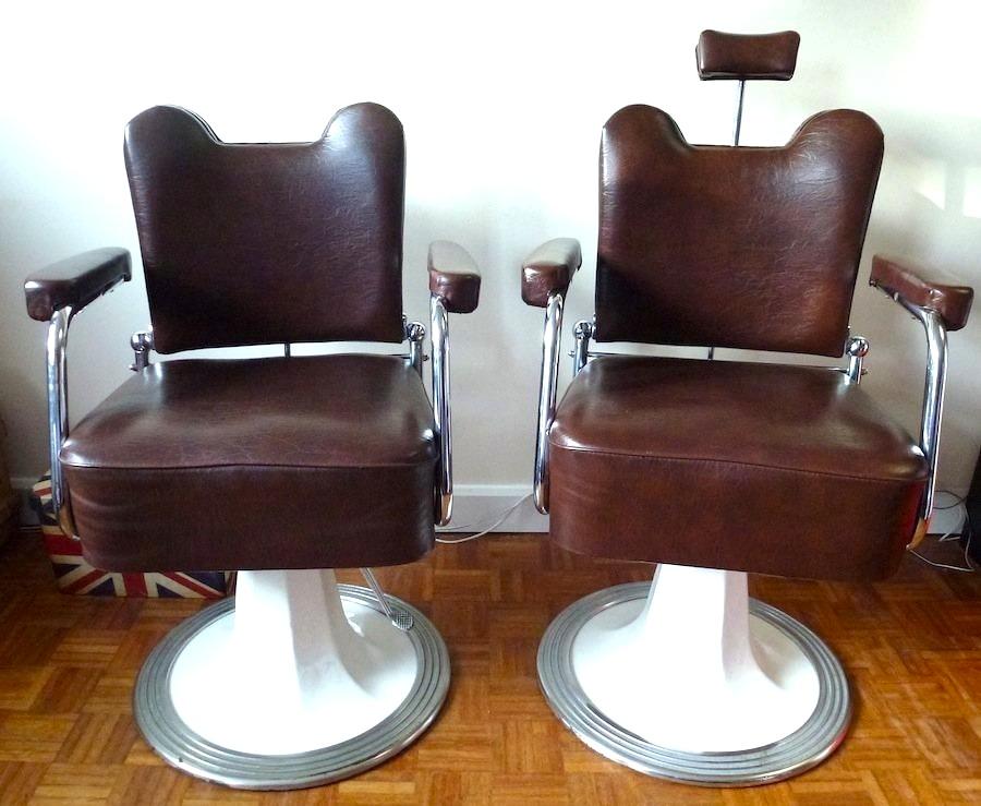 Industrial Vintage Barber Chair A8 La Boutique Vintage