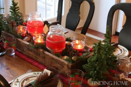 Beautiful Vintage Christmas Table Decorations La Boutique Vintage ...