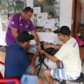 A Turma da Confraria do Ferro de Soldar: Edson e Adriano PU6 MAC em pé e sentados Nailson e Santana PY6 JJS