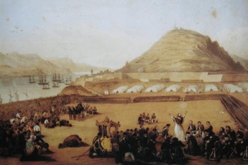 Intervención española Unificación italiana