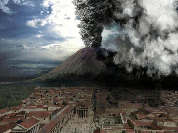 Cuando Vesubio arrasó Pompeya Herculano
