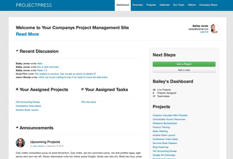 Projectpress