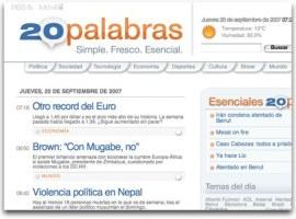 20palabras, un nuevo concepto de periodismo