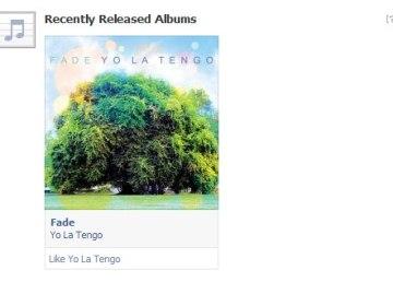 Facebook ya recomienda música