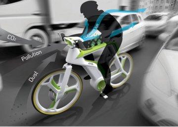 Una bicicleta que convierte el CO2 en oxígeno 2