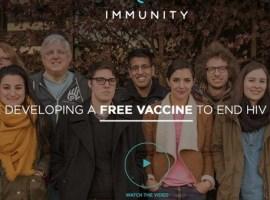 Una campaña de crowdfunding para desarrollar una vacuna contra el SIDA