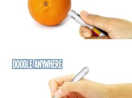 Scribble, un bolígrafo para dibujar con cualquier color que exista en el mundo