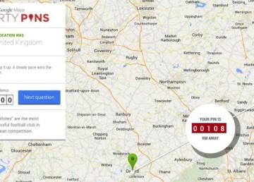 Smarty Pins, el trivial de Google Maps 4