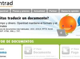 Opentrad, el primer traductor web de castellano, catalán, gallego y vasco