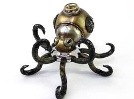 Las insólitas criaturas steampunk de Igor Verny