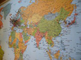 Los países más visitados en 2013 con Expedia