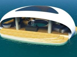 SeaScape: vivir en una villa flotante