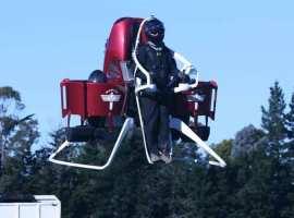 El primer jetpack se comercializará en 2016