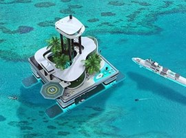 Kokomo Ailand, una isla privada artificial y transportable