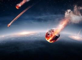 Bombardeo de meteoritos / Shutterstock