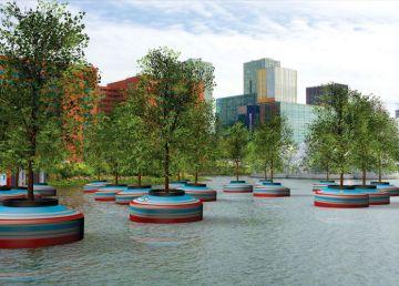 Bosque flotante Rotterdam