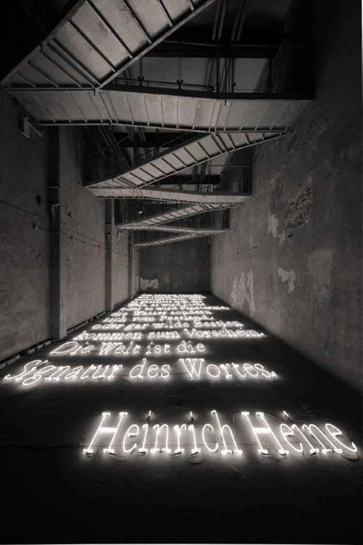 Antigua fabrica cerveza reconvertida museo arte luminoso 2