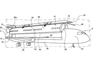 Boeing planea avion modular