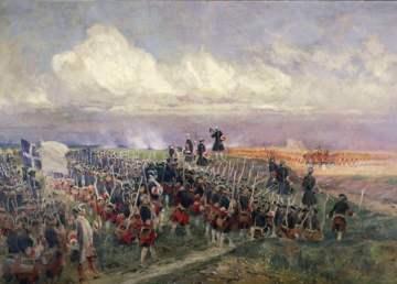 Infantería británica del siglo XVIII