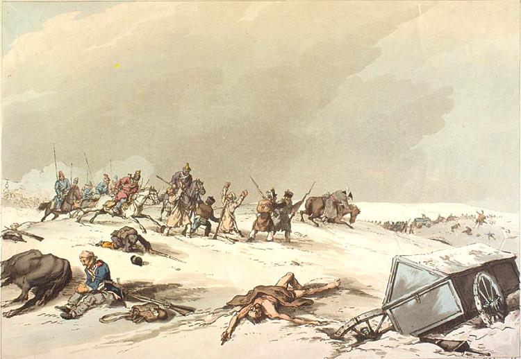 Quien limpiaba los campos batalla guerras napoleonicas
