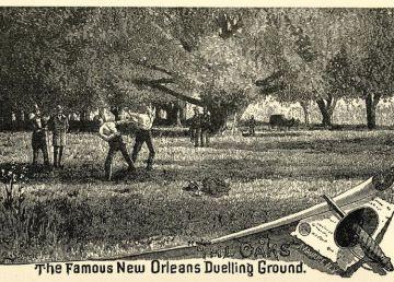 The Oaks, el robledal de los duelos en Nueva Orleans