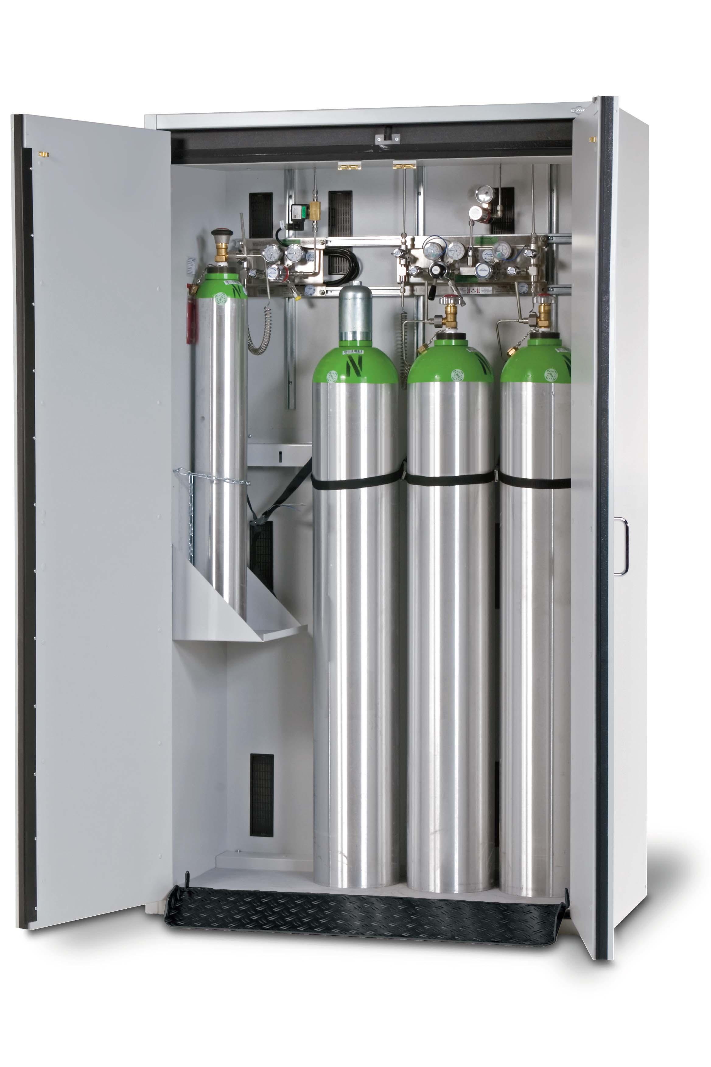 Gas cylinder cabinets EN 14470