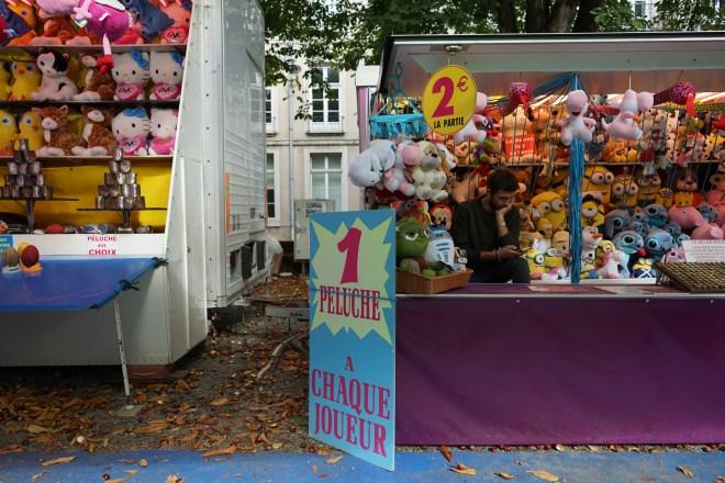 la fête foraine - Nantes