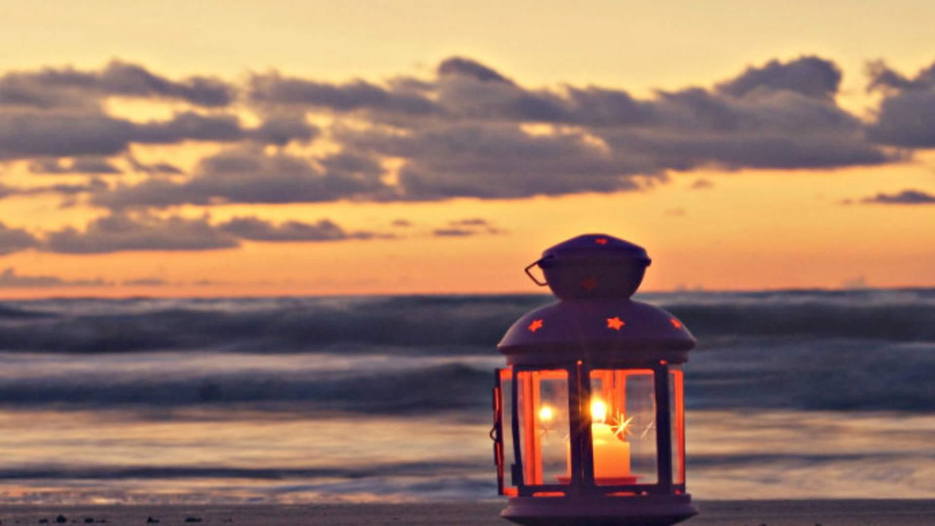Cena Hd Wallpaper Offerta Cena Sulla Spiaggia Lume Candela Mare Gargano