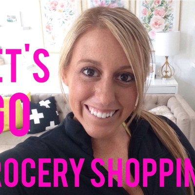 How I meal plan and Grocery shop