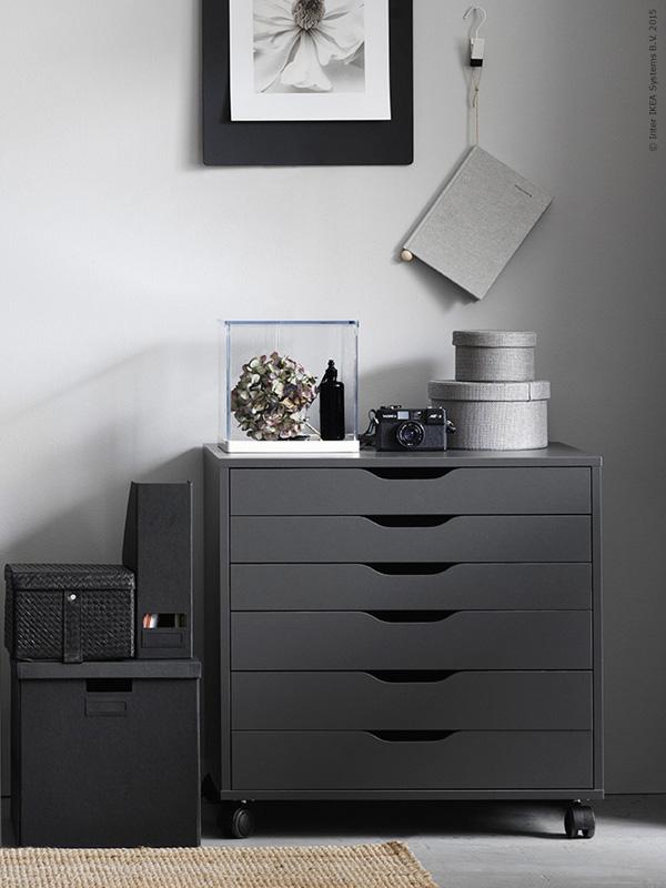 Workspace - Ikea Alex Desk - selected by La Chaise Bleue