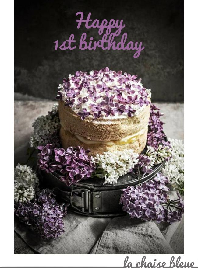 Happy 1st birthday La Chaise Bleue (lachaisebleue.com)