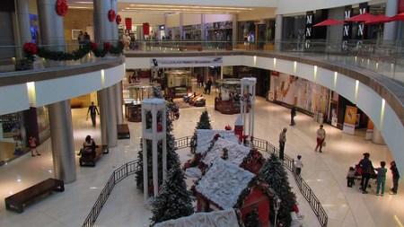 """Navidad en un """"mall"""""""