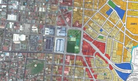 La Ciudad Paralela - Plan Regulador - Manuel Morales