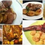 Seis jugosos ASADOS de carne